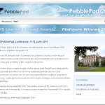 Bumper selection of Case Studies from PebblePad